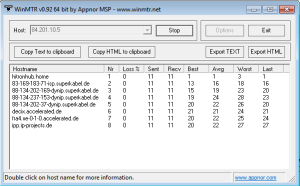 Tracert IP-Projects