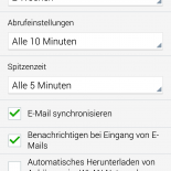 android-konto-optionen