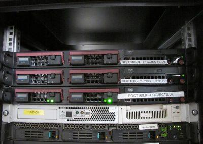 Rack D1 - oberer Teilbereich