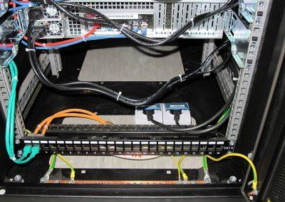 Stromfeeds und Datenfeeds im HA Rack