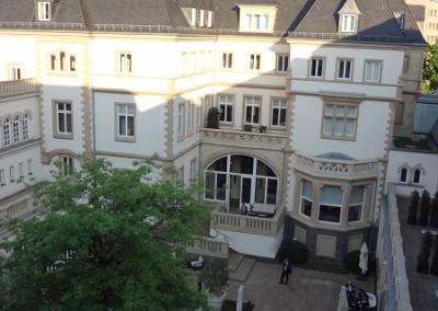 Villa Kennedy - Innenhof