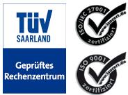 TÜV und ISO Zertifikate