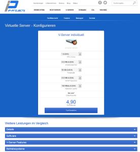 V-Server Preisrechner