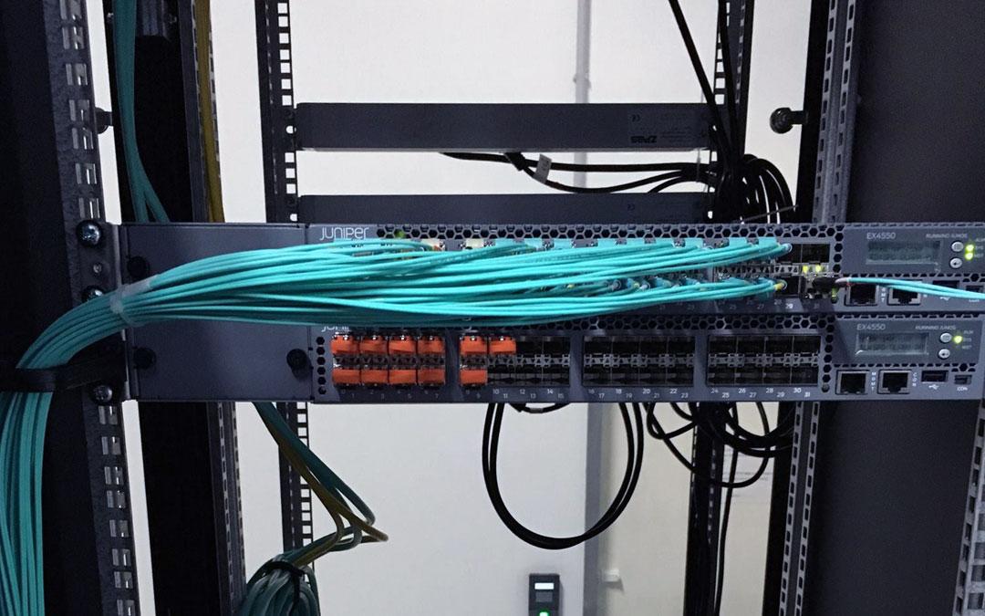 Abschluss des 10 Gigabit Netzwerkausbaus