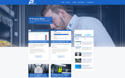 IP-Projects Blog in neuem Glanz
