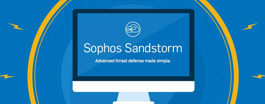 Aktivierung von Sophos Sandstorm