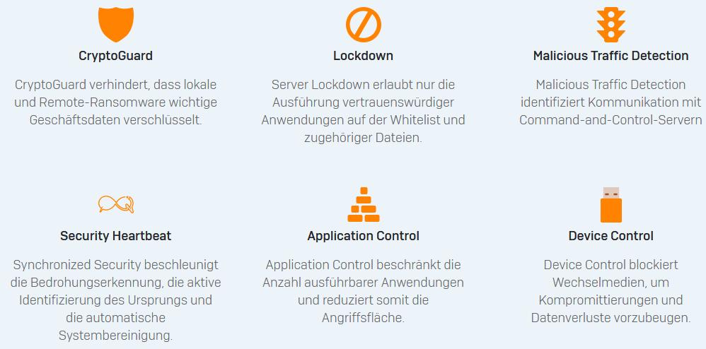 Einführung der Sophos Server Protection