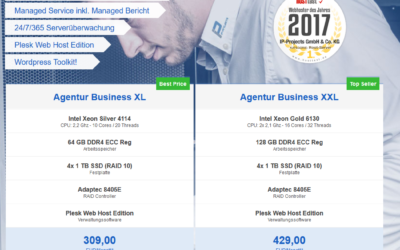 Neue Agentur Managed Dedicated Server