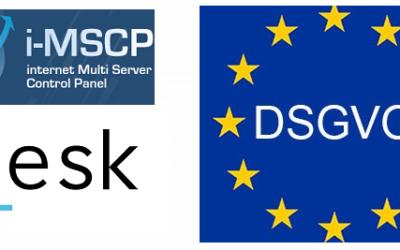 Anonymisieren der IP-Adressen bei I-MSCP / Plesk