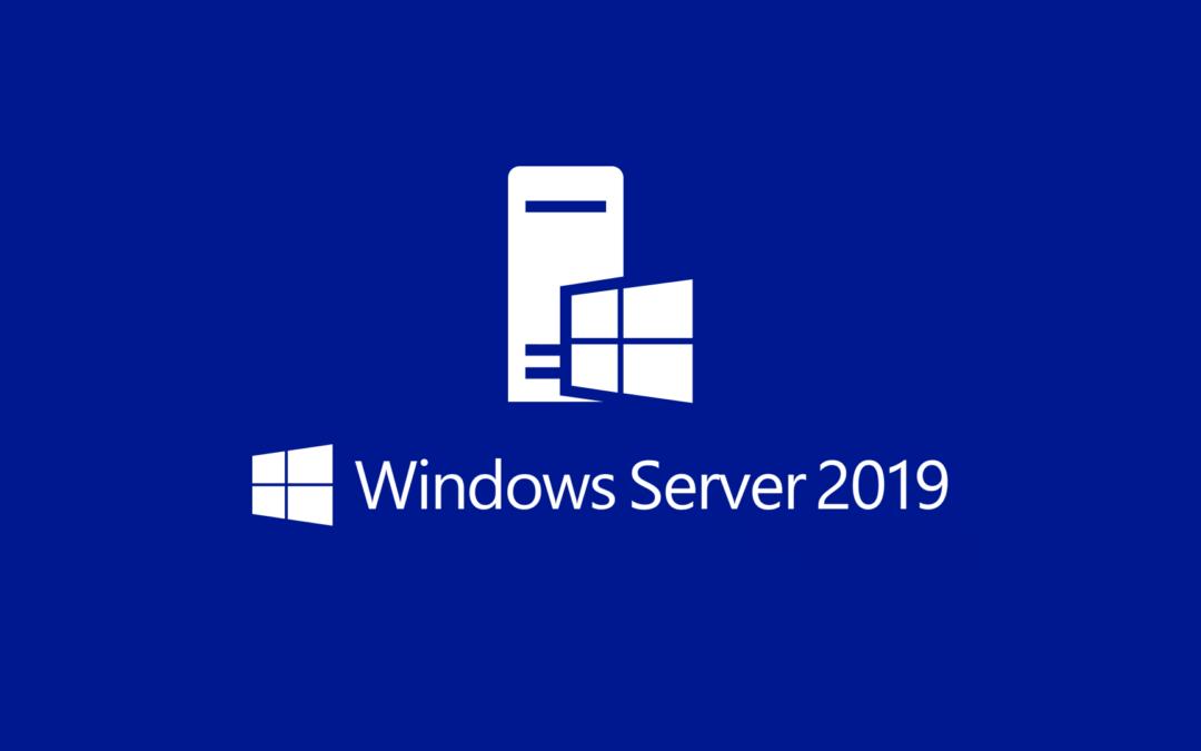 Windows Server 2019 Installationsimage