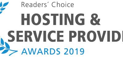 Nominierung beim HSP Award in der Kategorien vServer