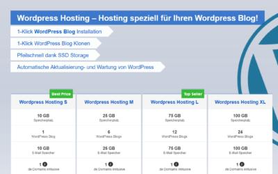 SSD Webhosting, WordPress Hosting, Shop Hosting und vieles mehr!