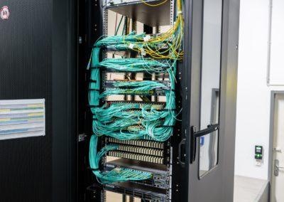 10 G SFP+ Core Verkabelung